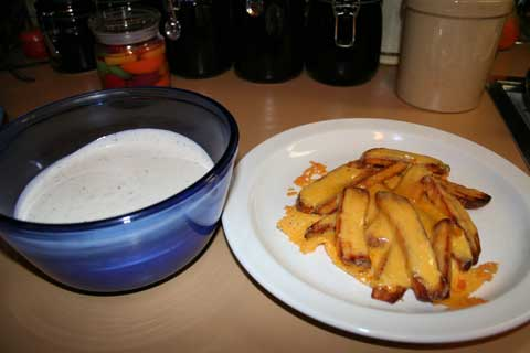 Cheese Fries and Ranch